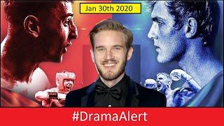 Why PewDiePie Quit Twitter! #DramaAlert Jake Paul vs Gib  ( Jan 30th!) & Much More!