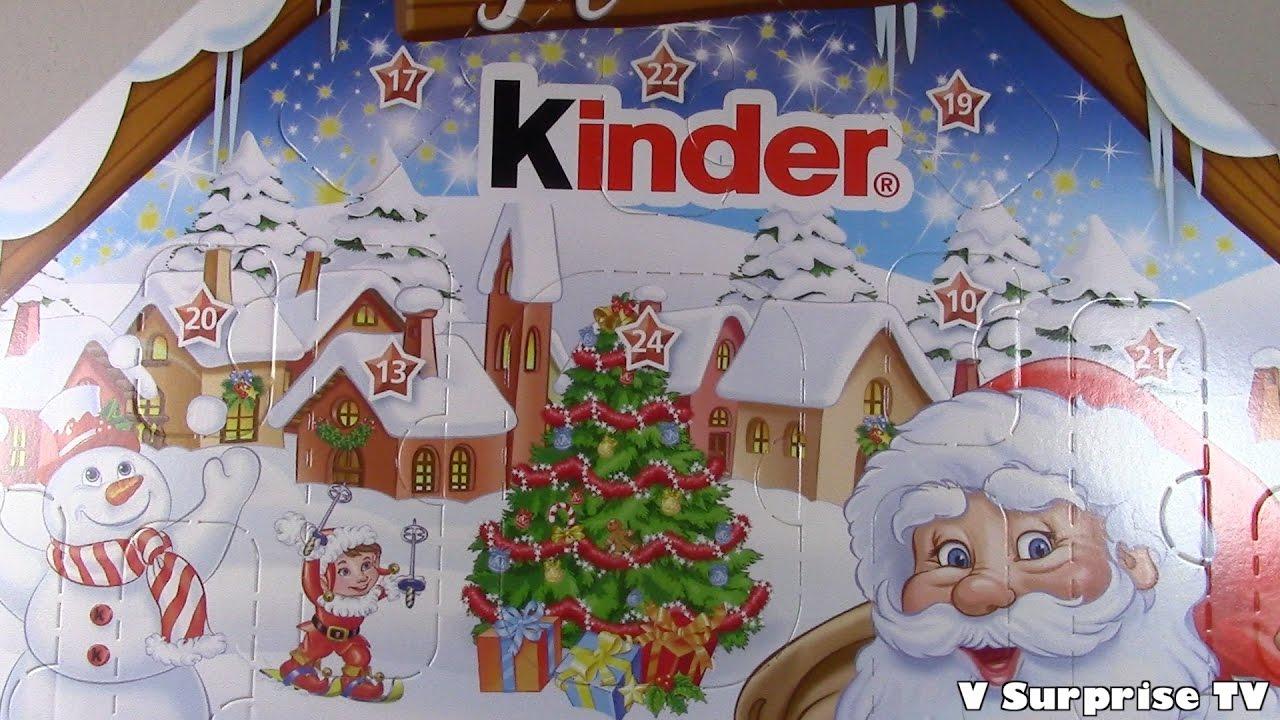 Calendario Avvento Kinder.Kinder Advent Calendar Surprise Eggs 2016 Christmas X Mas Huevos Oeufs Con Sorpresas House