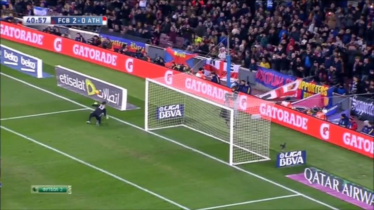 Атлетик– Барселона: Барселона 6 0 Атлетик Бильбао Ла Лига 2015-16 20 тур