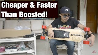 bukabox gadget review koowheel electric longboard rival boosted board english subtitle