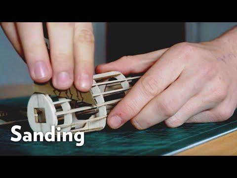 How To Sand Balsa Wood Models   Balsa Basics