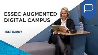 Discover the new ESSEC augmented digital Campus through the eyes of Carine | ESSEC Testimonies