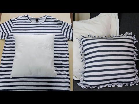 Veja Como Reciclar Uma Camiseta Velha