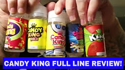 Candy king by dripmore full line e liquid review