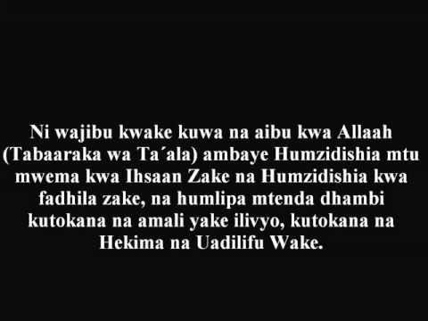 609- Nasaha Za Shaykh Zayd Kwa Wale Wenye Kuangalia Filamu Za Ngono