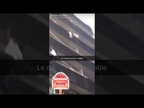 Escala cuatro pisos y rescata a un niño que colgaba de un balcón