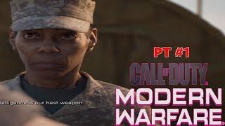 Call of Duty Modern Warfare PART 1 GAMEPLAY PC 2019