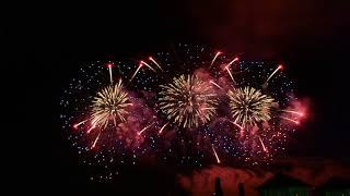 """Международный фестиваль фейерверков """"Серебряная ладья"""" в Костроме «Большой Праздник» 2017"""