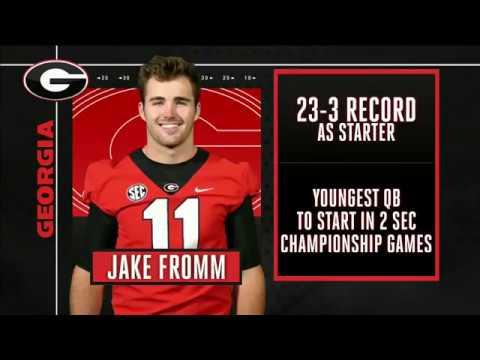 Jake Fromm vs. Alabama (SECCG) 2018