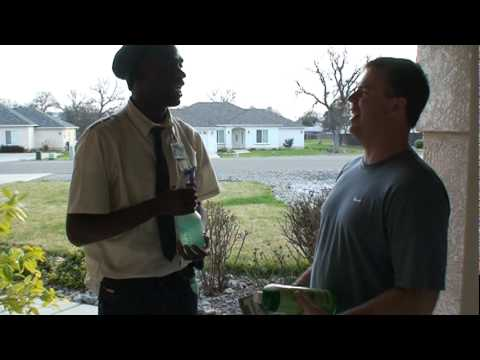 Kenny brooks salesman comedian original youtube for Door to door sales