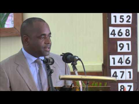 Dominica PM's Motivational Speech at Wesley High School on Career Day