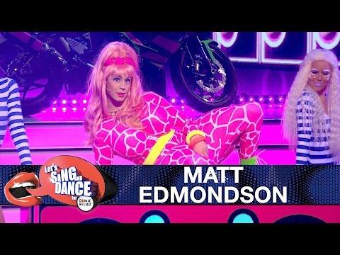 Matt Edmondson performs as Nicki Minaj - Let's Sing and Dance for Comic Relief 2017 - BBC One