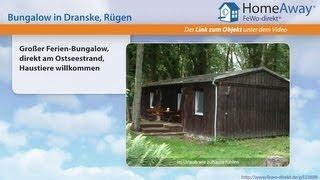 Ferienort auf Rügen: Großer Ferien-Bungalow, direkt am Ostseestrand - FeWo-direkt.de Video