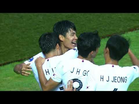 Qatar 1-3 Korea Republic (AFC U19 Indonesia 2018 : Semi Final)