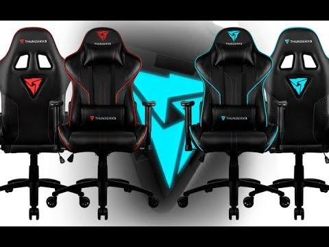 Обзор игрового кресла ThunderX3 RC3