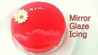 How to make a Mirror Glazed Cake. Mirror Glaze Icing Recipe
