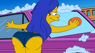 SEXY Carwash Scene - Lois Griffin / Marge Simpson