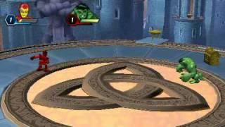 MARVEL SUPER HERO SQUAD PSP GAMEPLAY