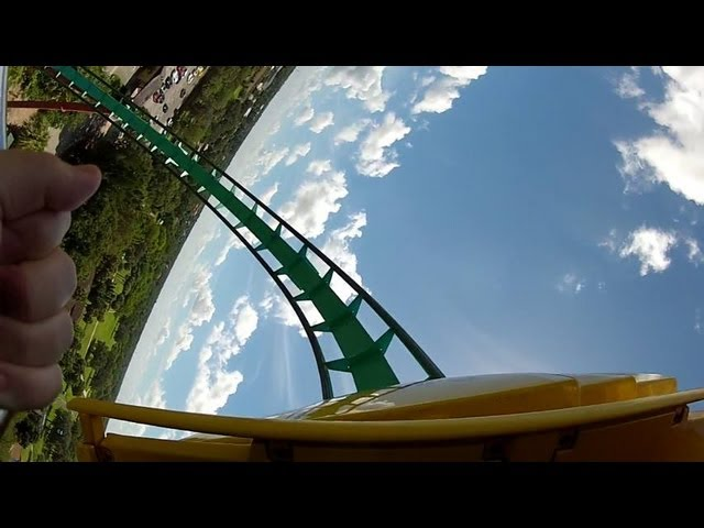 Kumba - Congo Busch Gardens Florida HD front row seat POV - GoPro Hero Travel Video