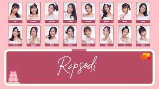 Gambar cover JKT48 - Rapsodi [Color Coded Lyrics/KAN/ENG/IDN]