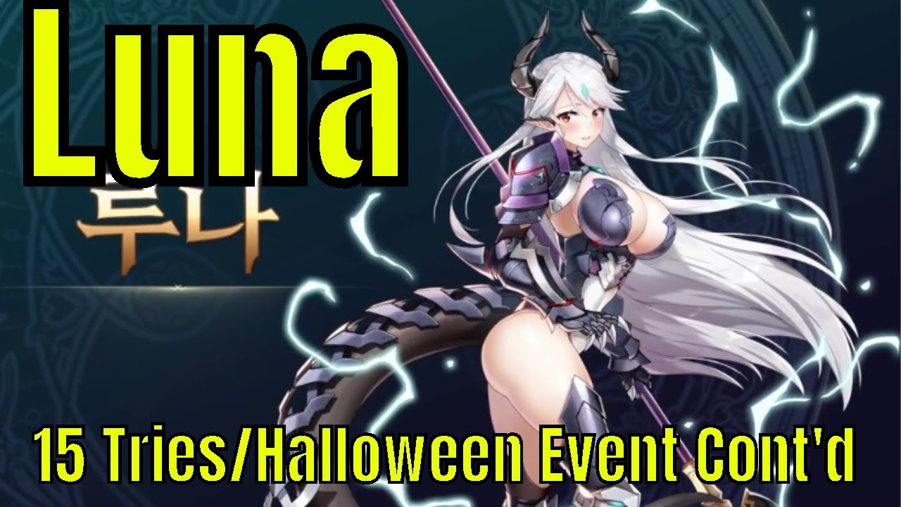 Epic Seven: 15 Summon Tries On Luna/Second chapter of the Halloween event