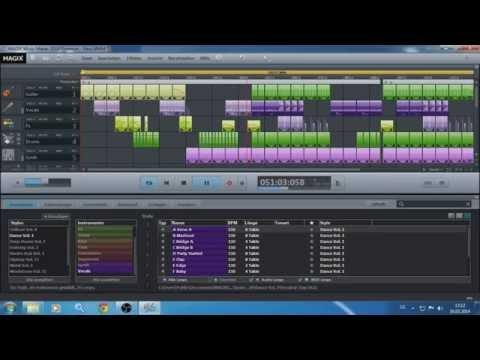 Magix Music Maker 2014 Premium  .mp4 Dance Club