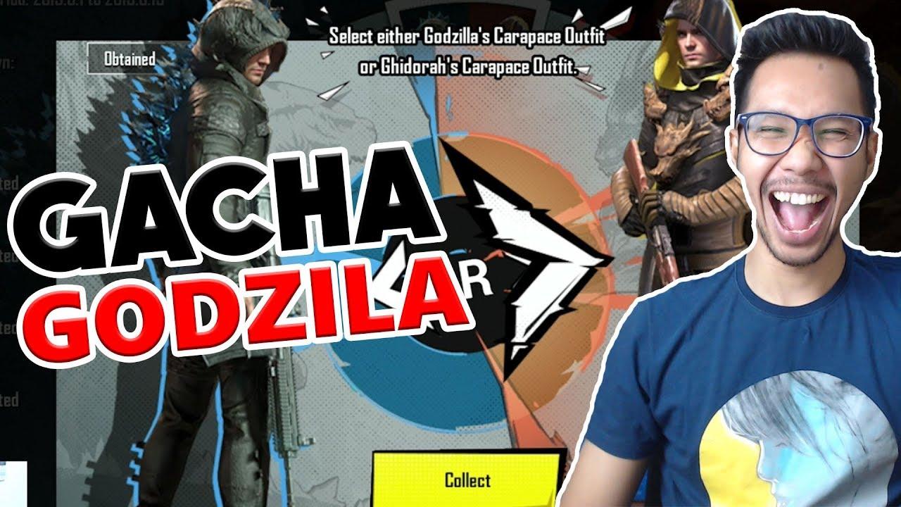 Gacha Semua Skin Godzilla Pubg Mobile Indonesia Youtube