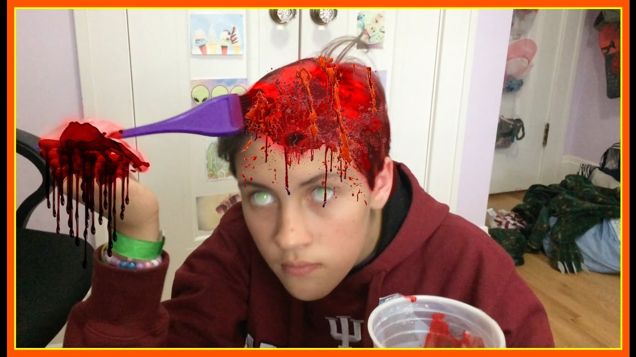 Do Not Dye Your Hair With Food Coloring Youtube