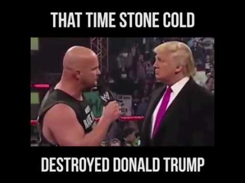 WWE fight with Donald Trump