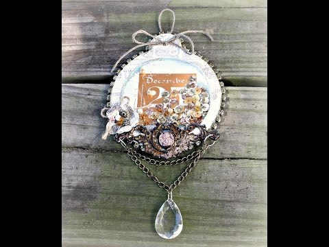Sweet Peppermint Ornaments with Miranda Edney on Live with Prima