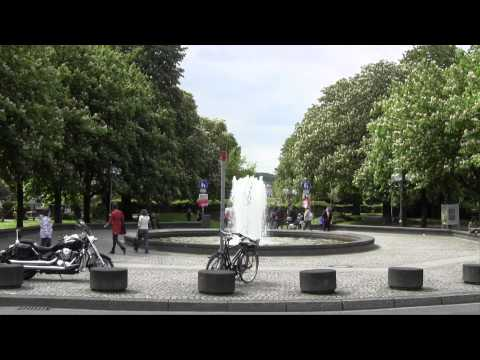 University of Bonn, Germany - a walk across the main campus (2012)