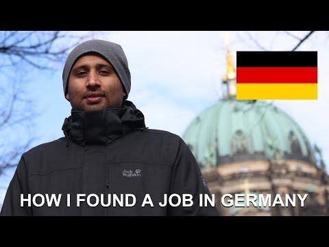 How I Found A Job In Berlin,Germany - Rudresh, From India