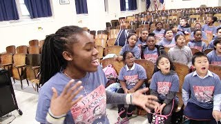 """""""Stand Up For Something"""" PS22 Chorus ft. Denise (by Andra Day & Common)"""