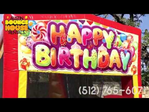Austin Bounce House Rentals - Awesome Party Rental Customer Setups in Austin Texas!