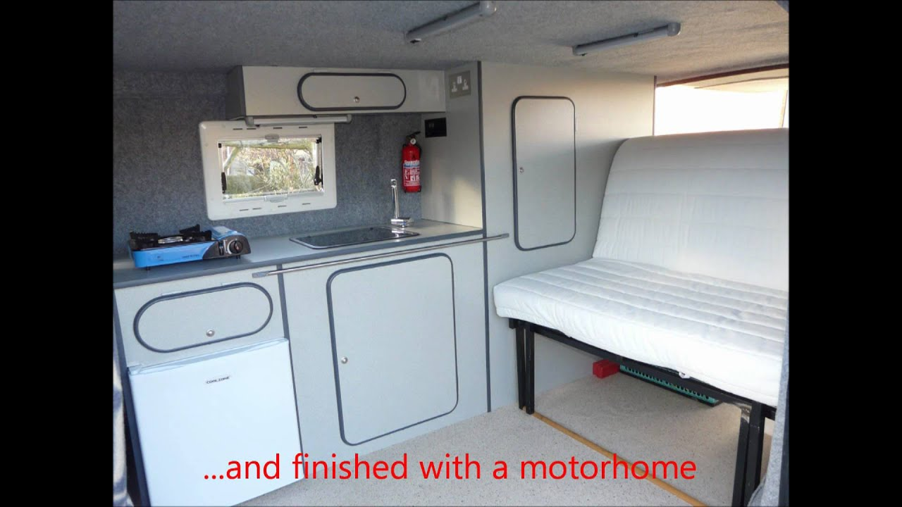 Ford Transit Van To Diy Campervan Conversion Youtube