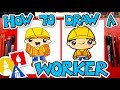 How To Draw A Construction Worker