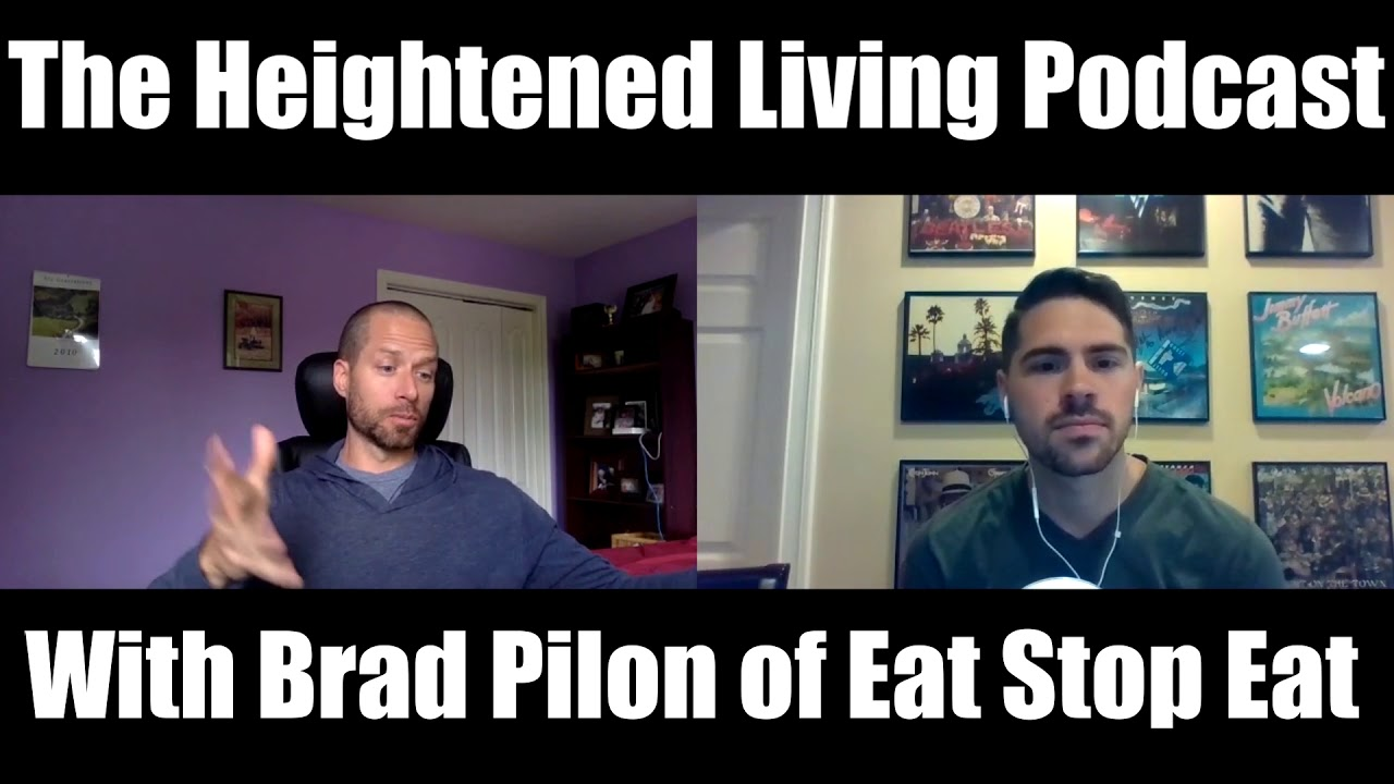 Brad pilon on intermittent fasting nutrition and thin air
