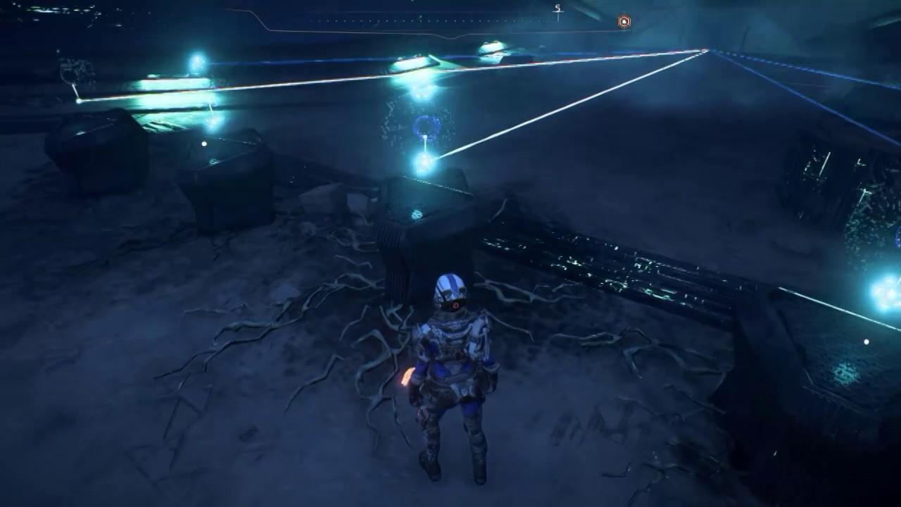 Mass Effect Andromeda Elaaden Vault Puzzle Youtube