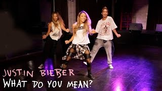 Justin Bieber - What Do You Mean? (Dance Tutorial)