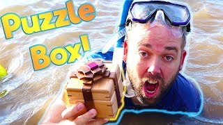 We Found the First Treasure Puzzle Box From Mr. E!