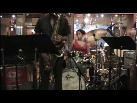 Kimberly Thompson Quartet at Gretsch 130th Anniversary Event at Rudy's Music #2