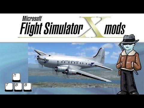 Flight Simulator X Plane Spotlight - Boeing 307 Stratoliner
