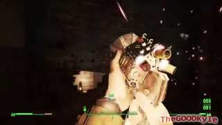 Fallout 4 Lorenzo s Artifact Telekinesis Gun Gameplay