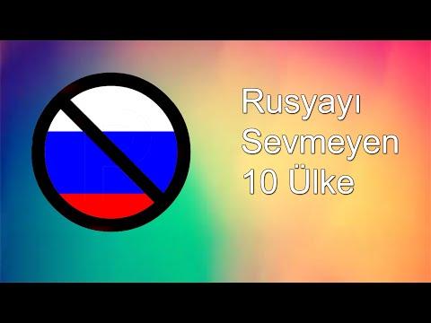 Rusyayı Sevmeyen 10 Ülke