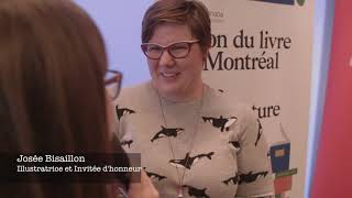 Topo sur la conférence de presse du Salon du livre de Montréal