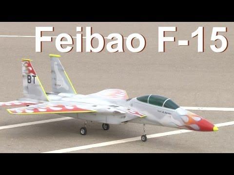 Feibao F-15 Jet flight by Mohammed Al Darmaki - UAE TOP JET 2012