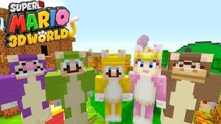Minecraft Switch - Super Mario Series - CAT MARIO INVASION! [195]
