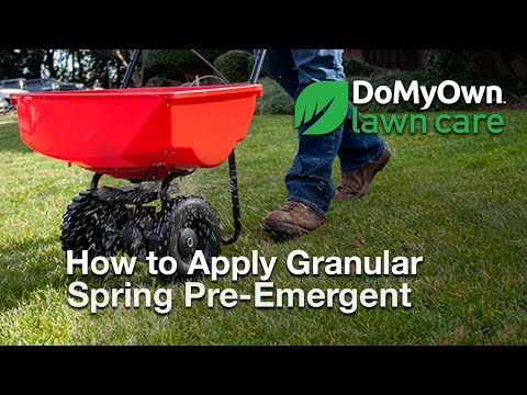 How To Ly Pre Emergent Herbicide