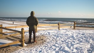 surfing winter storm helena in new jersey