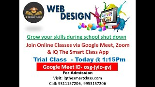 Wed Designing Class